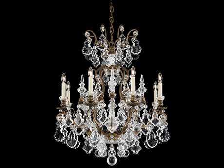 Schonbek Versailles Nine-Light 26'' Wide Grand Chandelier