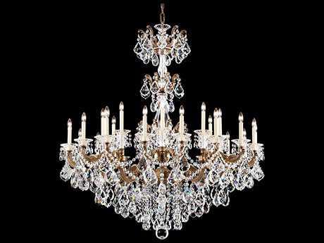 Schonbek La Scala 27-Light 48'' Wide Grand Chandelier