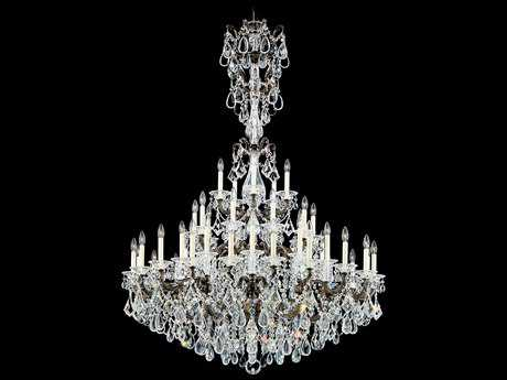 Schonbek La Scala 45-Light 49'' Wide Grand Chandelier