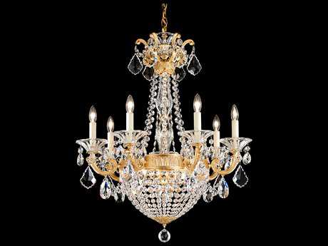 Schonbek La Scala Empire Nine-Light 23'' Wide Grand Chandelier