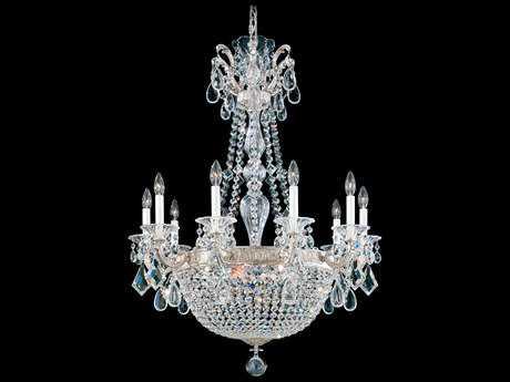 Schonbek La Scala Empire 15-Light 30'' Wide Grand Chandelier
