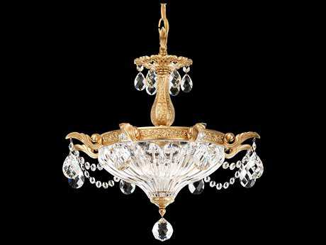 Schonbek Milano Two-Light 16'' Wide Mini Chandelier