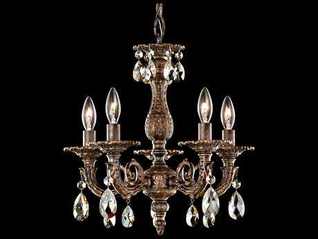Schonbek Milano Five-Light 13'' Wide Mini Chandelier