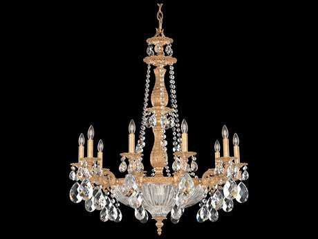 Schonbek Milano 14-Light 30'' Wide Grand Chandelier