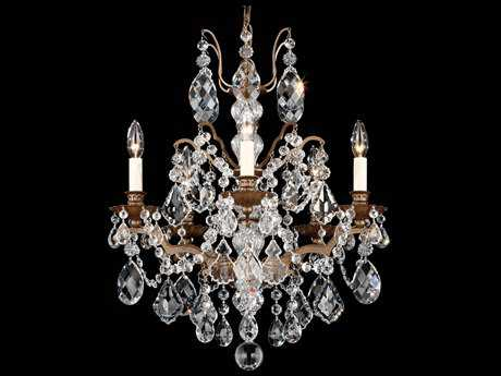 Schonbek Bordeaux Five-Light 20'' Wide Chandelier