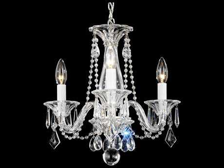 Schonbek Allegro Three-Light 14'' Wide Mini Chandelier