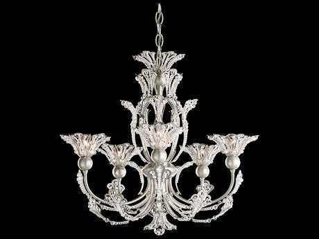 Schonbek Rivendell Five-Light 21'' Wide Grand Chandelier