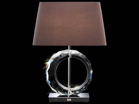 Schonbek Boutique Lamps Circle Two-Light 17.5'' Wide Table Lamp