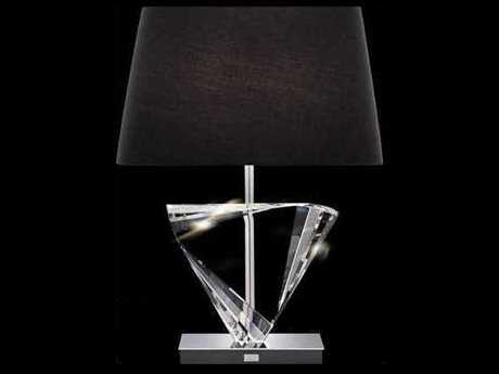 Schonbek Boutique Lamps Inverted Triangle Two-Light 17.5'' Wide Table Lamp