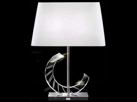 Schonbek Boutique Lamps Half-Curve Two-Light 17.5'' Wide Table Lamp