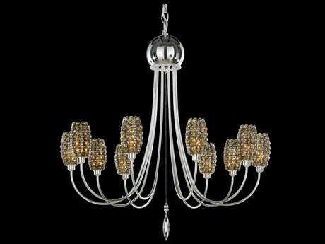 Schonbek Dionyx Ten-Light 24'' Wide Grand Chandelier