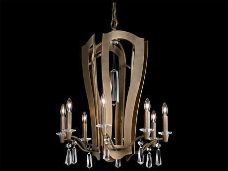 Schonbek Linterna Ten-Light 21'' Wide Chandelier