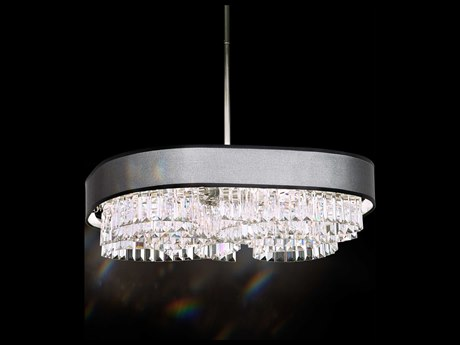 Schonbek Zeppa Eight-Light 24'' Wide Pendant Light
