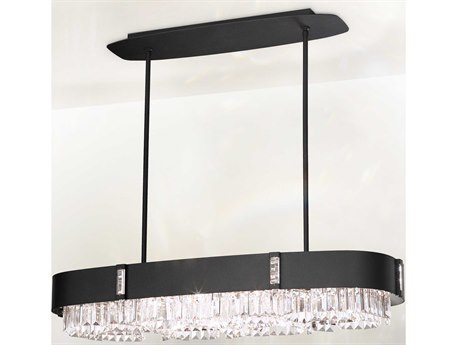 Schonbek Zeppa Ten-Light 37'' Wide Island Light