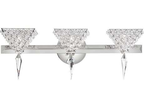 Schonbek Vertex Three-Light Vanity Light