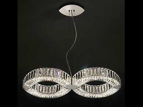 Swarovski Eyris Duo Eight-Light Pendant Light