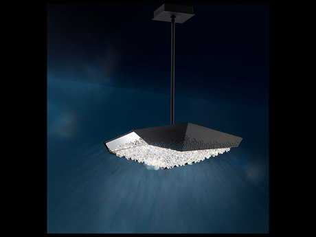 Swarovski Glyph Six-Light 48W LED (4000K) Pendant Luminaire
