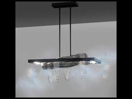 Swarovski Sevetti Eight-Light 64W LED (3000K) Pendant Luminaire