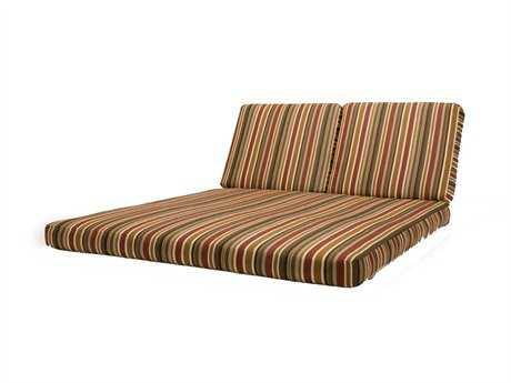 Caluco Chaise Seat & Back Double Patio Cushion
