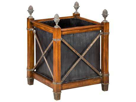 Sarreid Old World Walnut Planter