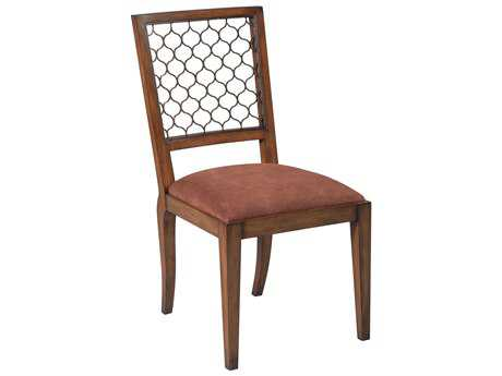 Sarreid Walnut Ribbon Dining Side Chair (Sold in 2)