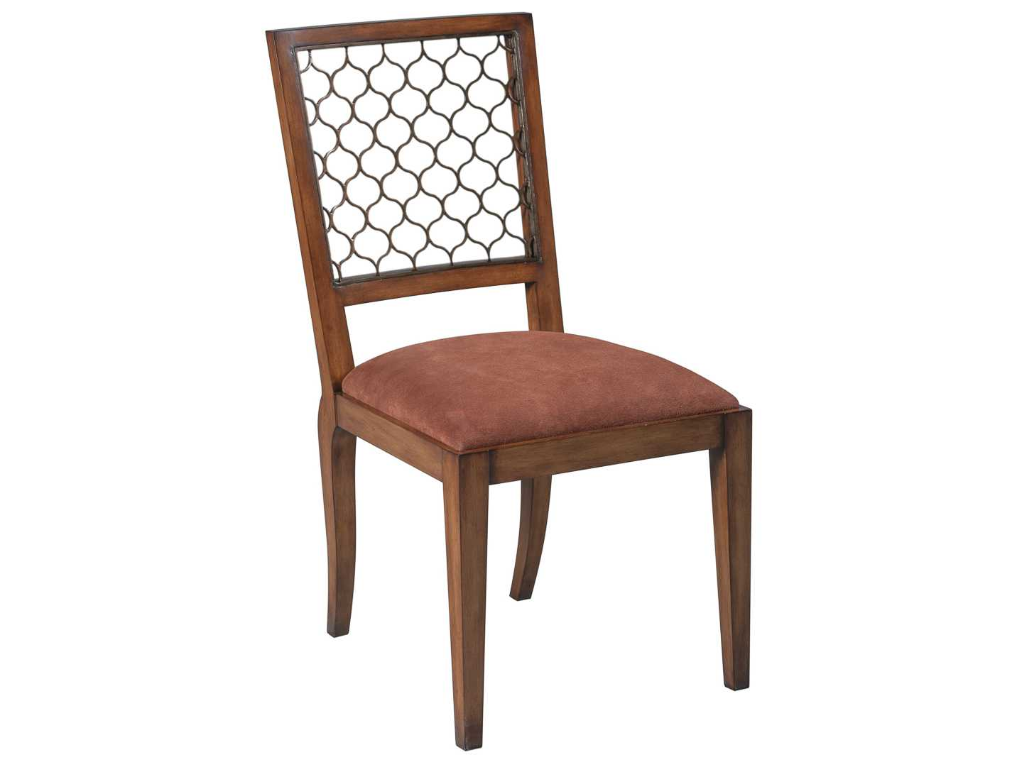 Sarreid Walnut Ribbon Dining Side Chair Sold In 2 SA60146