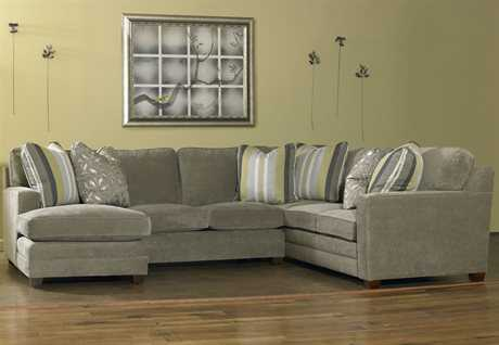 Sam Moore Ricky Sectional Sofa with Left Arm Chaise
