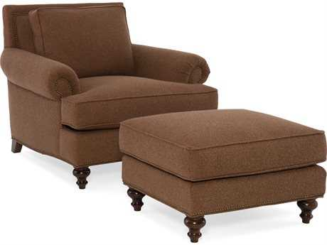 Sam Moore Webster Club Chair with Ottoman Set