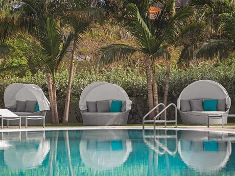 Source Outdoor Furniture Aqua Aluminum Lounge Set