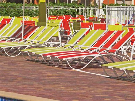 Source Outdoor Furniture Atlantic Aluminum Lounge Set