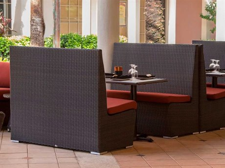 Source Outdoor Furniture Boca Wicker Dining Set