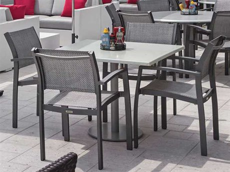 Source Outdoor Furniture Fusion Aluminum Dining Set