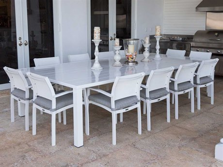 Source Outdoor Furniture Fusion Aluminum Dining Set
