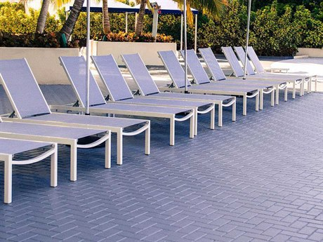 Source Outdoor Furniture Fusion Aluminum  Lounge Set