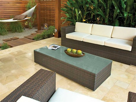 Source Outdoor Furniture King Wicker Lounge Set