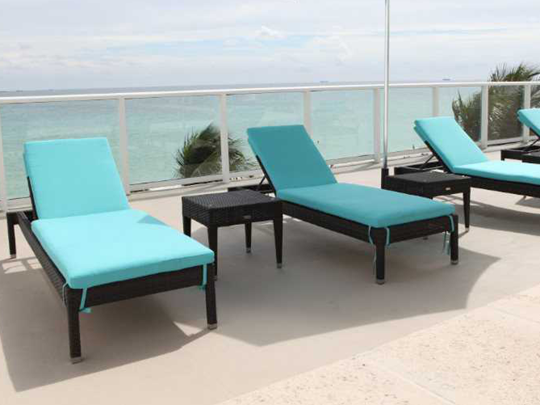 Source outdoor furniture zen wicker 20 square end table for Source outdoor furniture