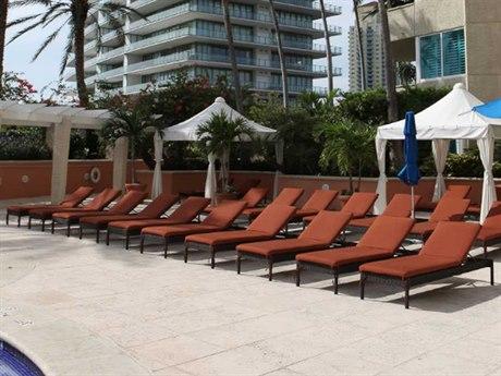 Source Outdoor Furniture Manhattan Wicker Lounge Set