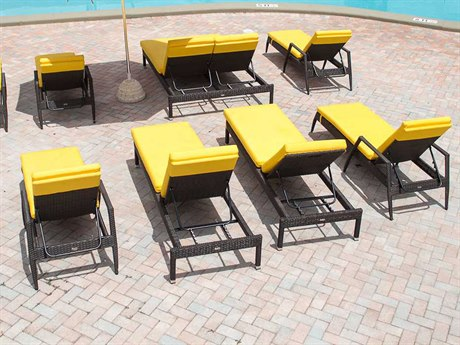 Source Outdoor Furniture Manhattan Wicker Lounge Set