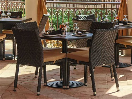 Source Outdoor Furniture Miami Wicker Dining Set