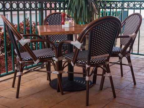 Source Outdoor Furniture Paris Aluminum Dining Set