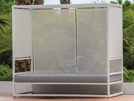 Source Outdoor Furniture Relax Aluminum Daybed Set SCRELAXLNGESET2