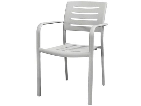 Source Outdoor Furniture Adele Aluminum Dining Arm Chair