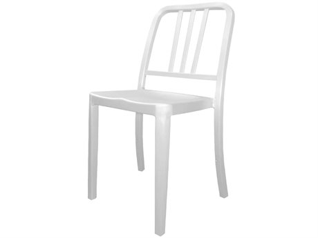 Source Contract Echo Aluminum Metal Dining Chair
