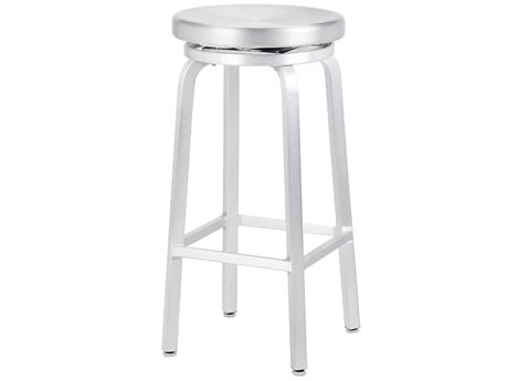 Source Contract Echo Aluminum Metal Bar Stool