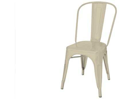 Source Outdoor Furniture Fremont Steel Dining Side Chair