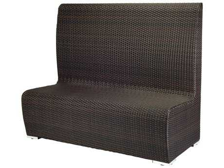 Source Outdoor Furniture Boca Dining Booth Highback Replacement Cushion