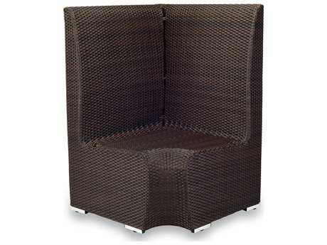 Source Outdoor Furniture Boca Wicker Booth Corner
