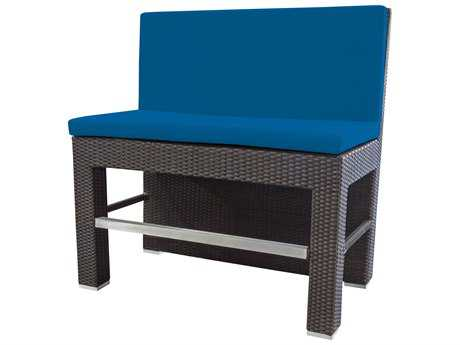 Source Outdoor Furniture Roma Wicker Bar Booth