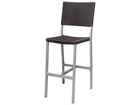 Source Outdoor Furniture Fiji Wicker Bar Side Chair
