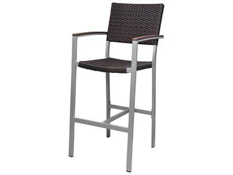 Source Outdoor Furniture Fiji Wicker Bar Arm Chair